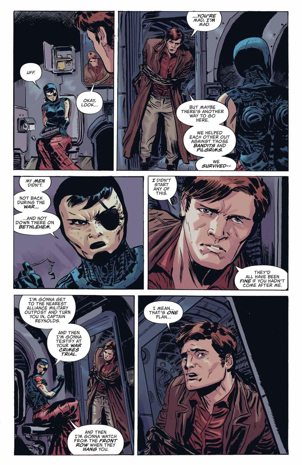 Firefly_UnificationWar_v2_SC_PRESS_13 ComicList Previews: FIREFLY THE UNIFICATION WAR VOLUME 2 TP