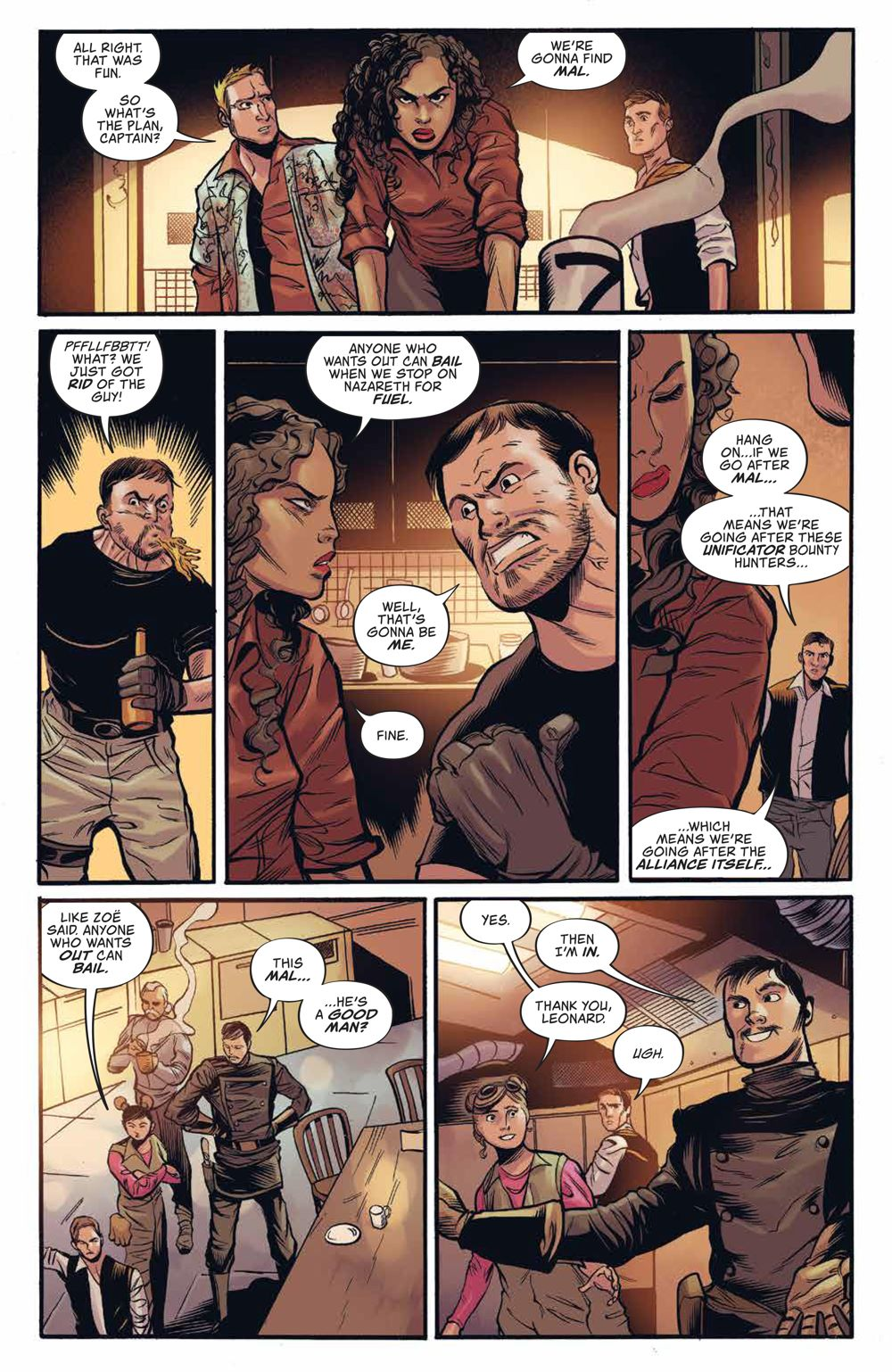 Firefly_UnificationWar_v2_SC_PRESS_17 ComicList Previews: FIREFLY THE UNIFICATION WAR VOLUME 2 TP