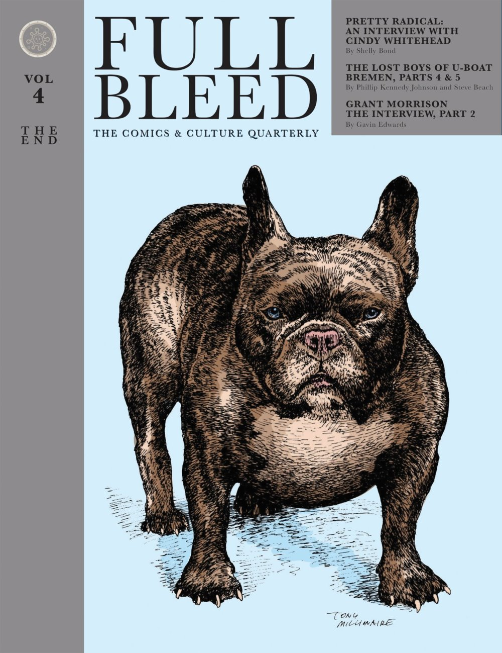 FullBleed-V4-pr-1 ComicList Previews: FULL BLEED THE COMICS AND CULTURE QUARTERLY VOLUME 4 THE END HC
