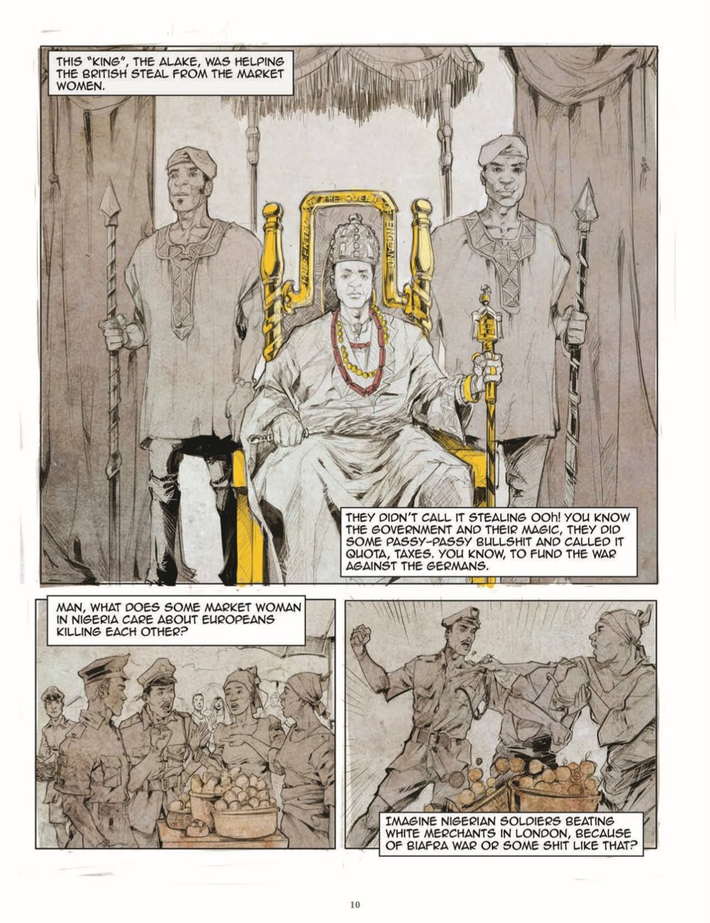 FullBleed-V4-pr-7 ComicList Previews: FULL BLEED THE COMICS AND CULTURE QUARTERLY VOLUME 4 THE END HC