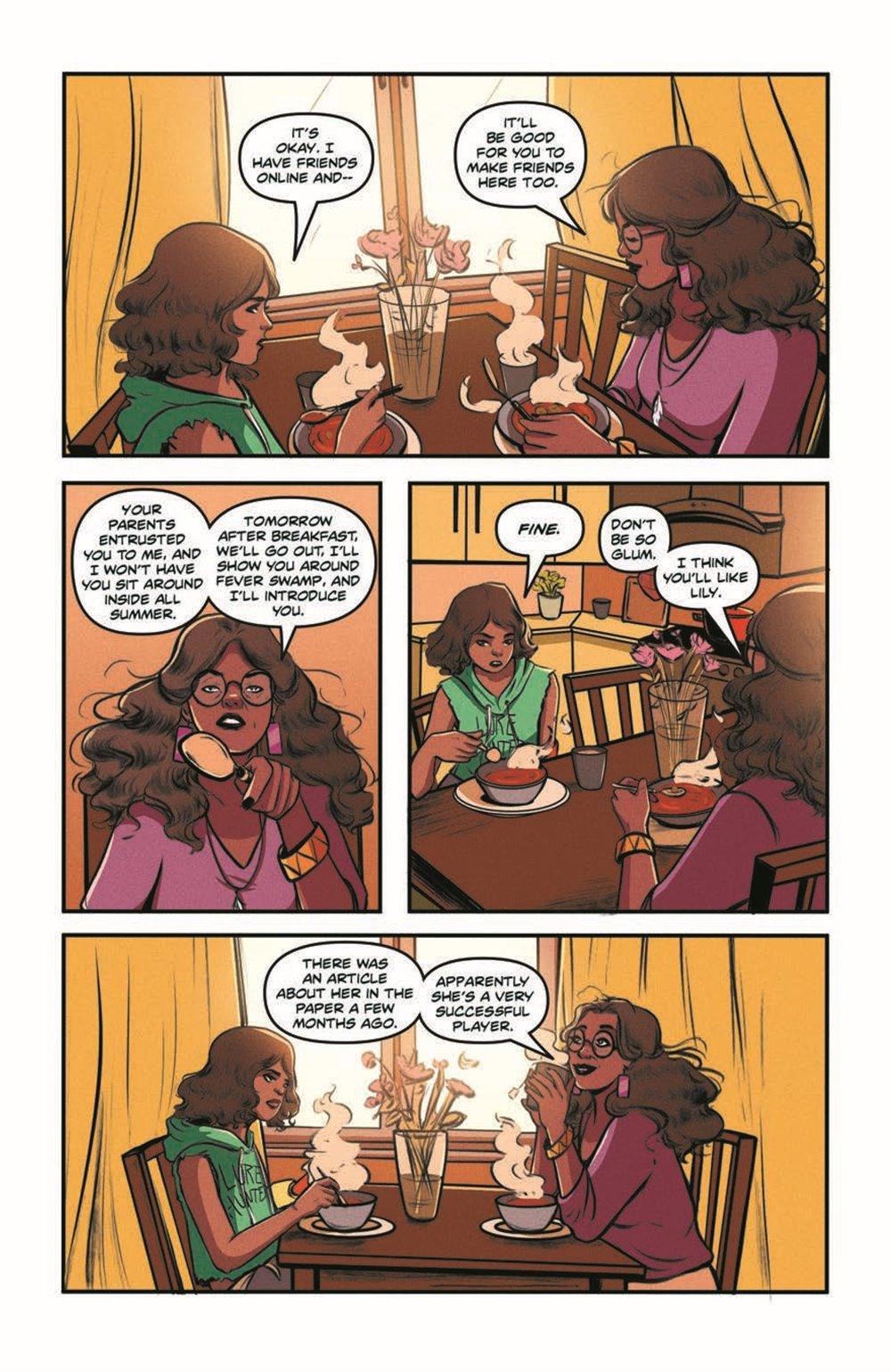 GB_SotS_VOL1_pr-7 ComicList Previews: GOOSEBUMPS SECRET OF THE SWAMP TP
