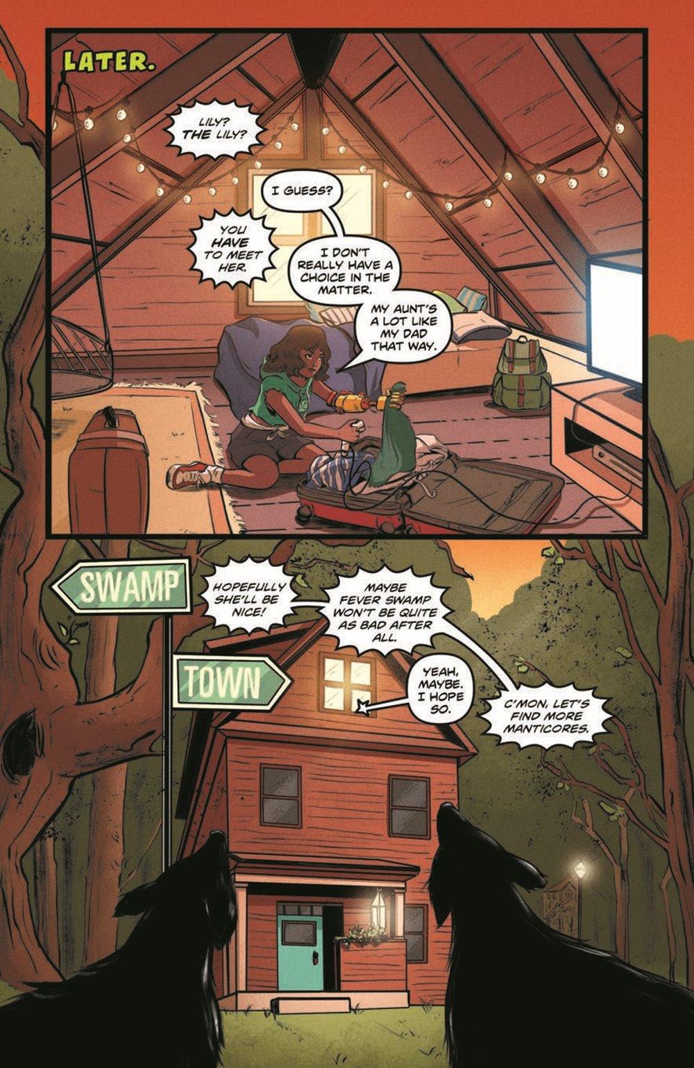 GB_SotS_VOL1_pr-8 ComicList Previews: GOOSEBUMPS SECRET OF THE SWAMP TP