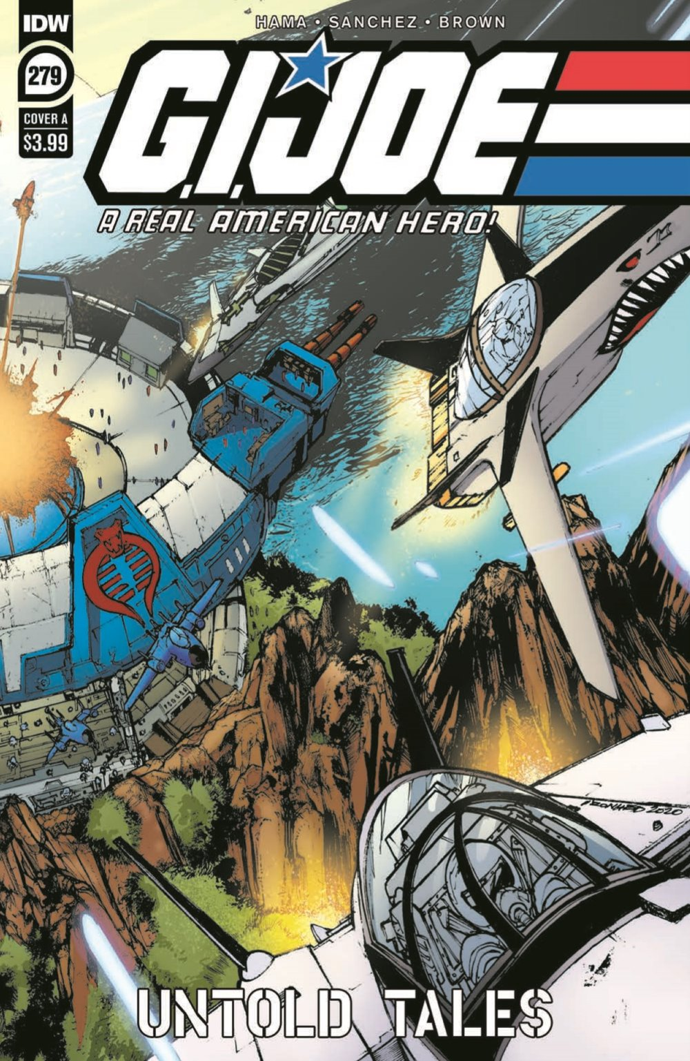 GIJoeRAH279-pr-1 ComicList Previews: G.I. JOE A REAL AMERICAN HERO #279