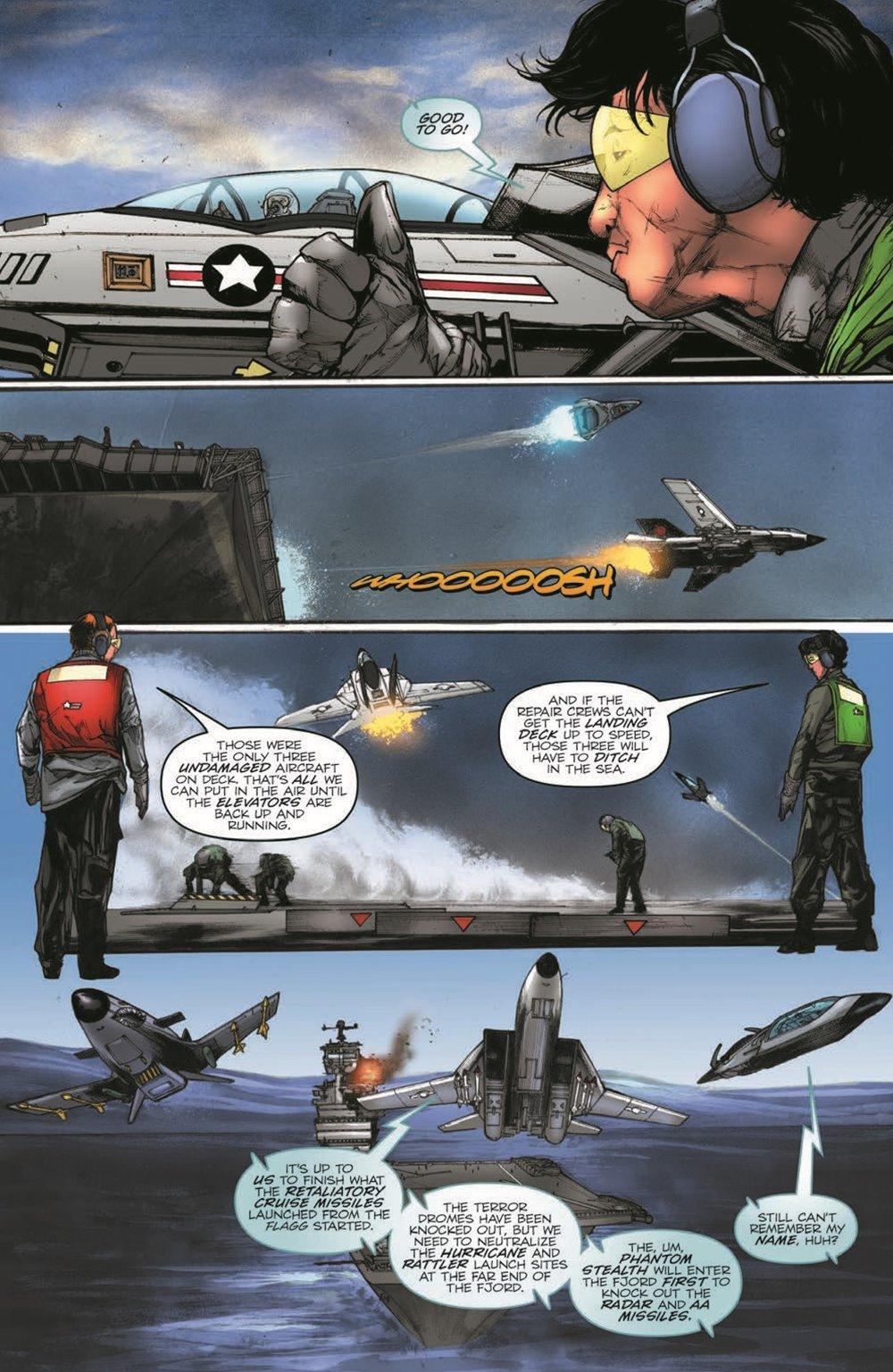 GIJoeRAH279-pr-5 ComicList Previews: G.I. JOE A REAL AMERICAN HERO #279