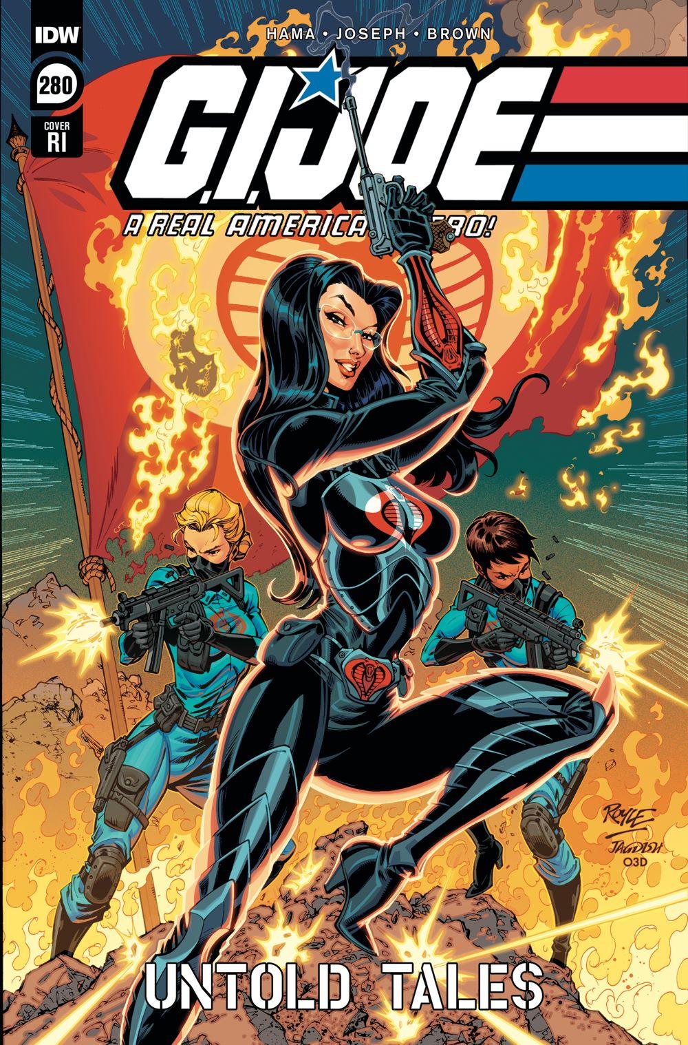 GIJoeRAH280-coverRI ComicList Previews: G.I. JOE A REAL AMERICAN HERO #280