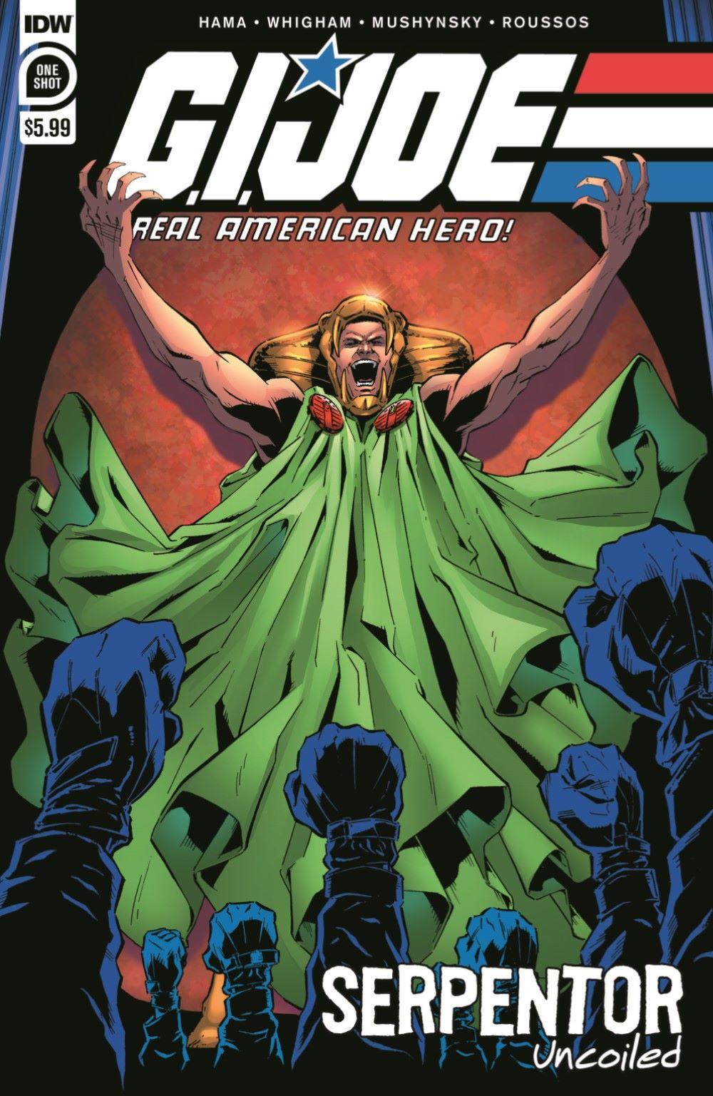 GIJoeRAH_SerpentorUncoiled-pr-01 ComicList Previews: G.I. JOE A REAL AMERICAN HERO SERPENTOR UNCOILED #1