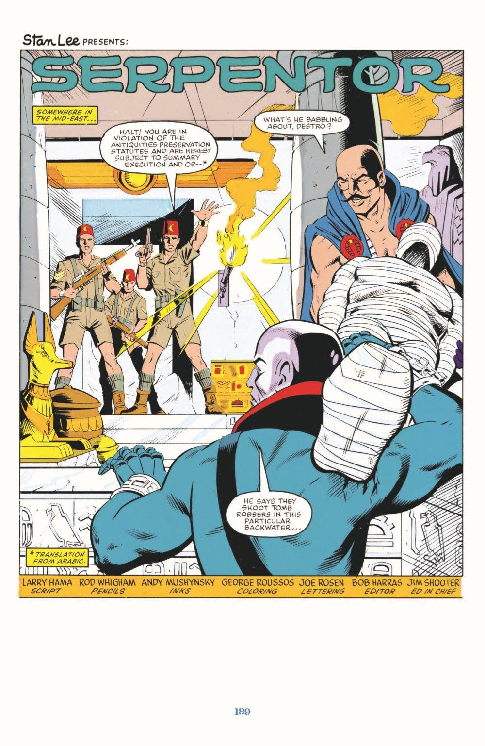 GIJoeRAH_SerpentorUncoiled-pr-04 ComicList Previews: G.I. JOE A REAL AMERICAN HERO SERPENTOR UNCOILED #1