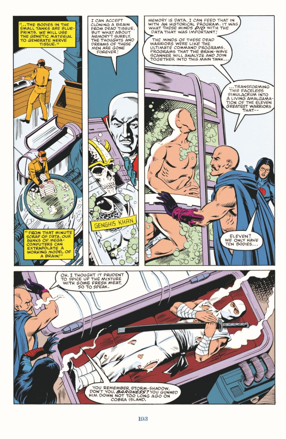 GIJoeRAH_SerpentorUncoiled-pr-08 ComicList Previews: G.I. JOE A REAL AMERICAN HERO SERPENTOR UNCOILED #1