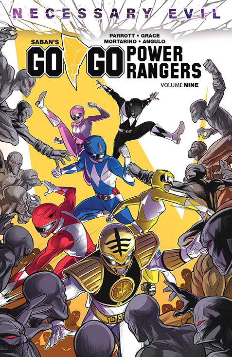 GoGoPowerRangers_v9_SC_Cover BOOM! Studios July 2021 Solicitations