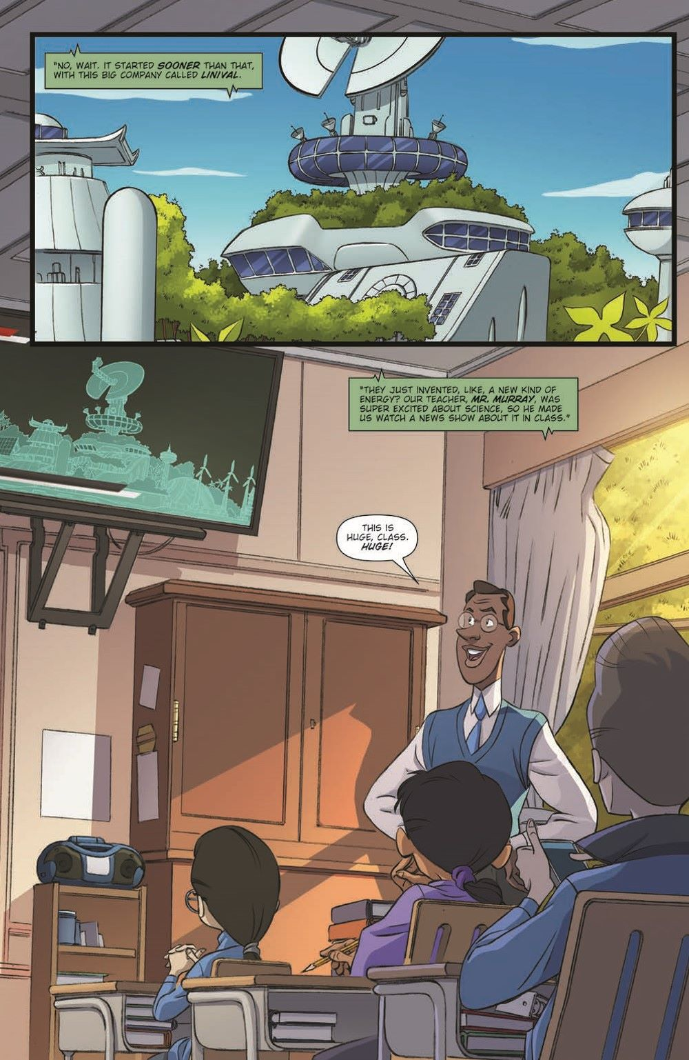 Godzilla_MnP_01_pr-5 ComicList Previews: GODZILLA MONSTERS AND PROTECTORS #1 (OF 5)