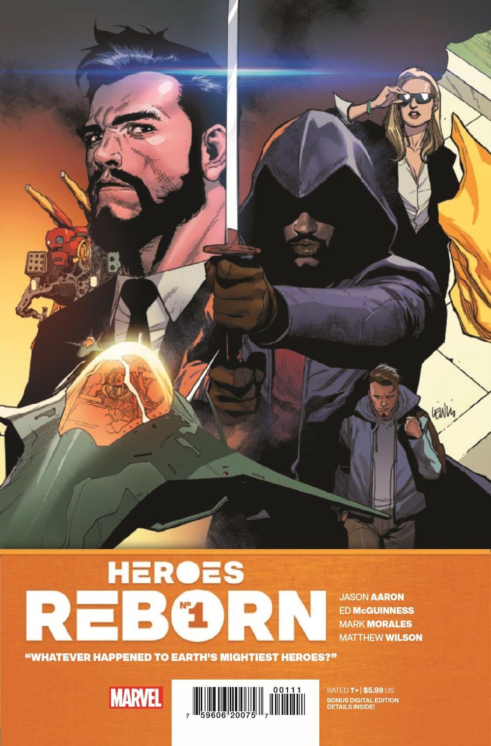 HEROESREBORN2021001_Preview-1 ComicList Previews: HEROES REBORN #1 (OF 7)