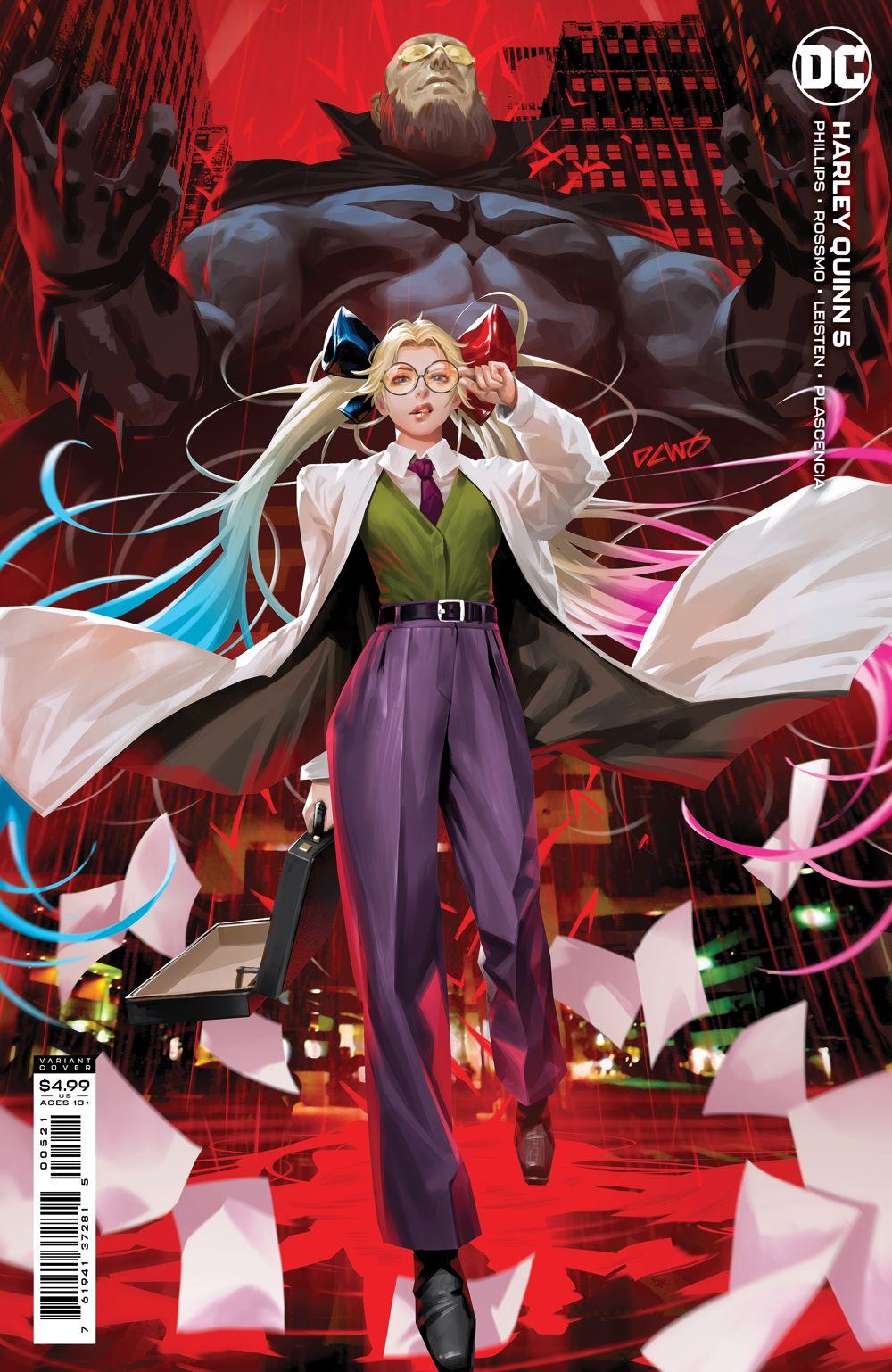 HQ_Cv5_var DC Comics July 2021 Solicitations
