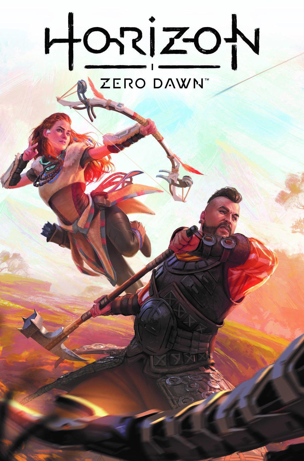 HorizonZeroDawn21_00_CoverE_WILKINS-1 Titan Comics July 2021 Solicitations
