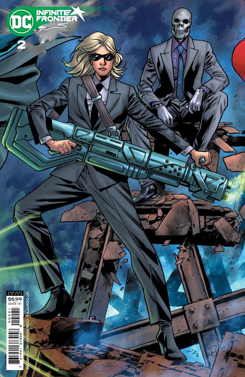 INFINITE_FRONTIER_Cv2_var DC Comics July 2021 Solicitations