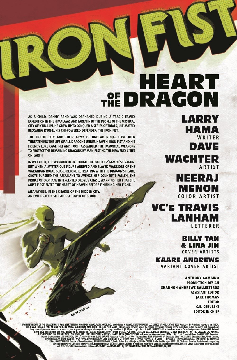 IRONFISTHOD2021004_Preview-2 ComicList Previews: IRON FIST HEART OF THE DRAGON #4 (OF 6)