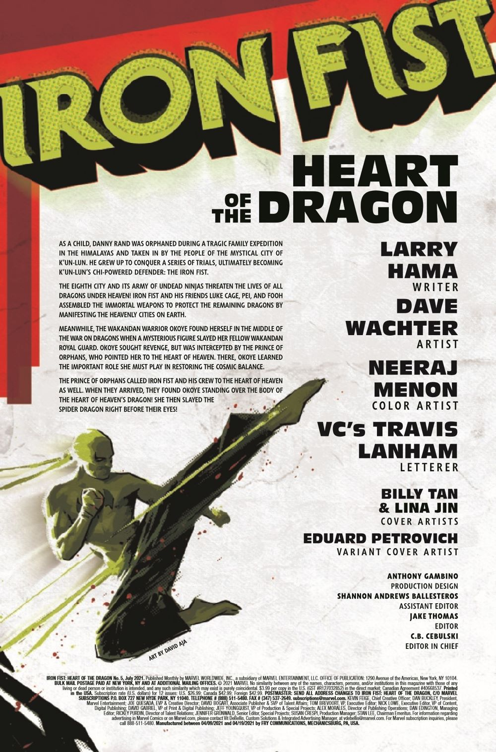 IRONFISTHOD2021005_Preview-2 ComicList Previews: IRON FIST HEART OF THE DRAGON #5 (OF 6)