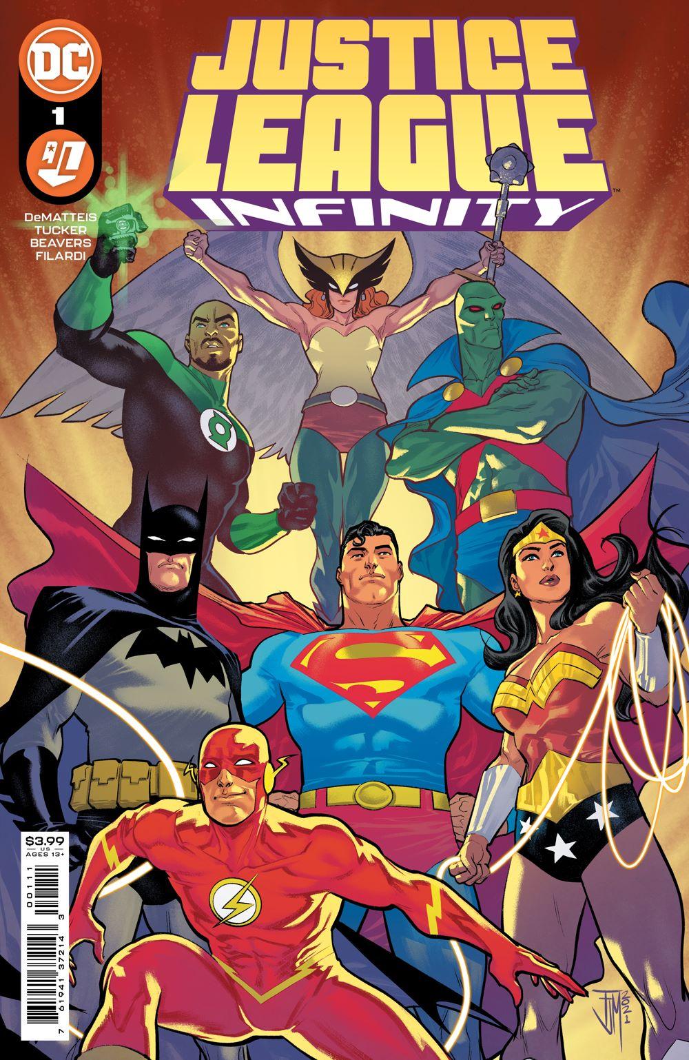 JLINFINITY_Cv1 DC Comics July 2021 Solicitations