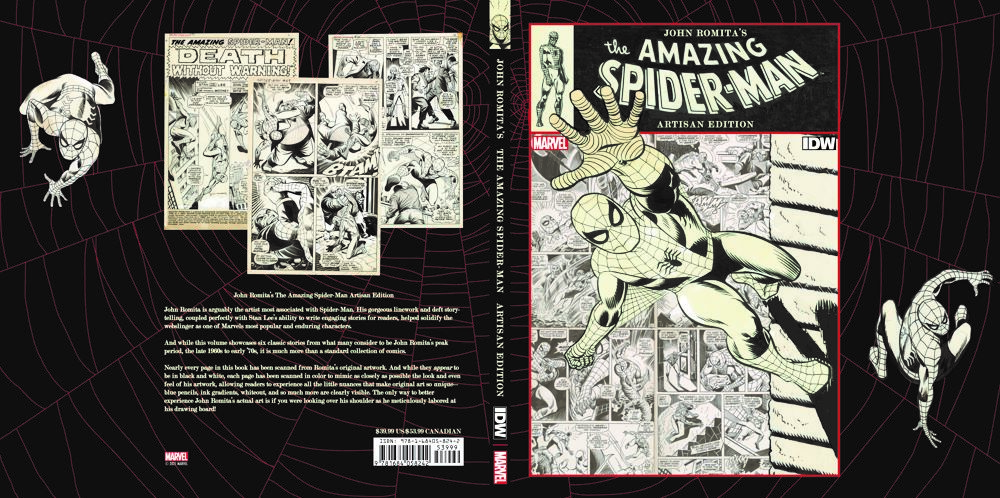 Jo-3 ComicList Previews: JOHN ROMITA'S THE AMAZING SPIDER-MAN ARTISAN EDITION TP