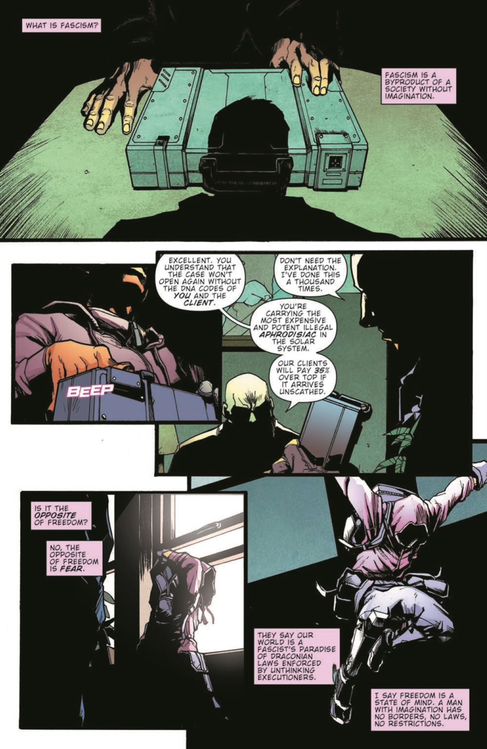 JudgeDredd_FalseWitness_pr-3 ComicList Previews: JUDGE DREDD FALSE WITNESS TP