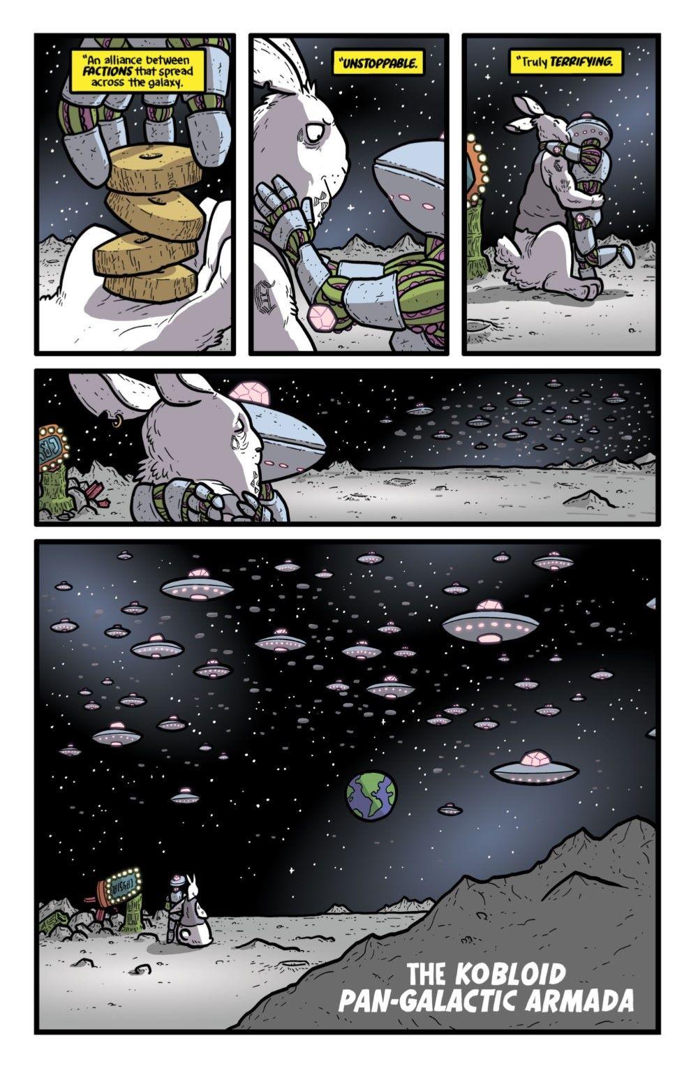 KAIJUMAXV6-1-MARKETING-04 ComicList Previews: KAIJUMAX SEASON SIX #1
