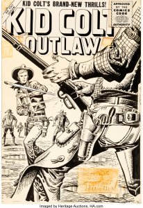 Kid-Colt-Outlaw-53-by-Joe-Maneely-206x300 Mighty Marvel Western: Attention Disney Plus Executives