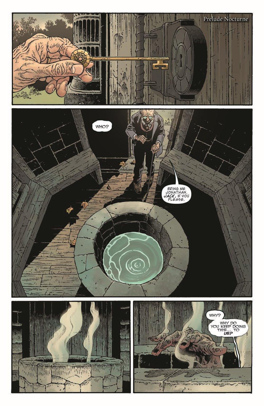 LnK-Sandman01_pr-3 ComicList Previews: LOCKE AND KEY THE SANDMAN UNIVERSE HELL AND GONE #1