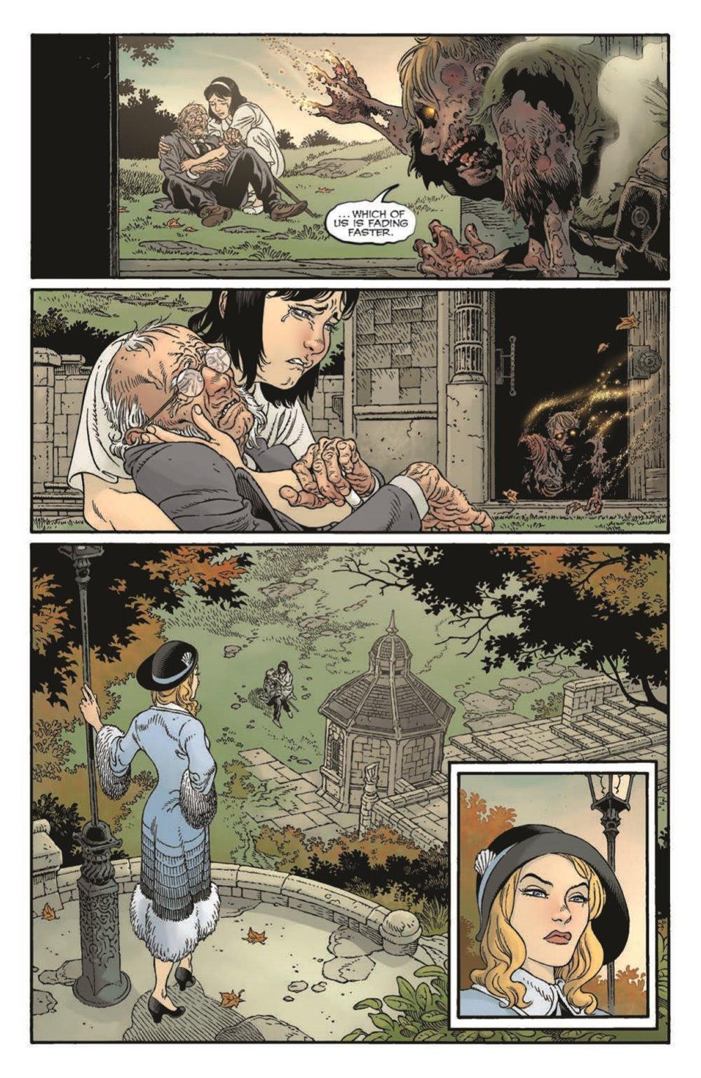 LnK-Sandman01_pr-5 ComicList Previews: LOCKE AND KEY THE SANDMAN UNIVERSE HELL AND GONE #1