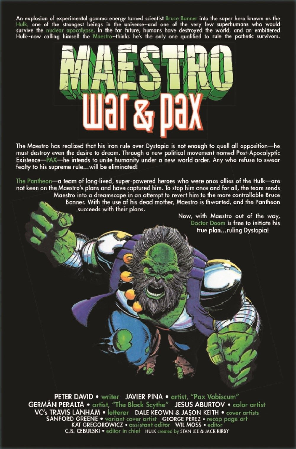 MAESTROWAP2021004_Preview-2 ComicList Previews: MAESTRO WAR AND PAX #4 (OF 5)
