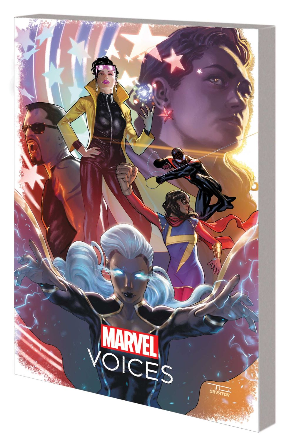 MARVOICESLEGACYTPB_cov Marvel Comics July 2021 Solicitations