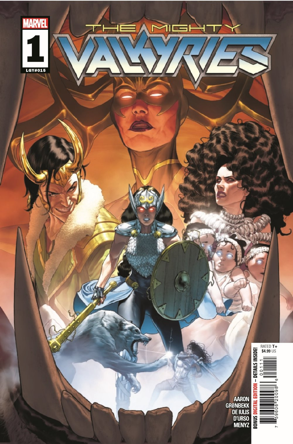 MIGHTYVALKYRIES2021001_Preview-1 ComicList Previews: THE MIGHTY VALKYRIES #1 (OF 5)