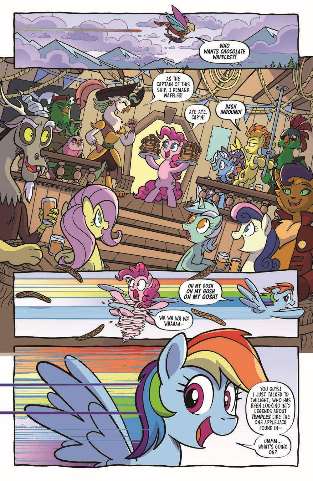 MLP96-pr-3 ComicList Previews: MY LITTLE PONY FRIENDSHIP IS MAGIC #96
