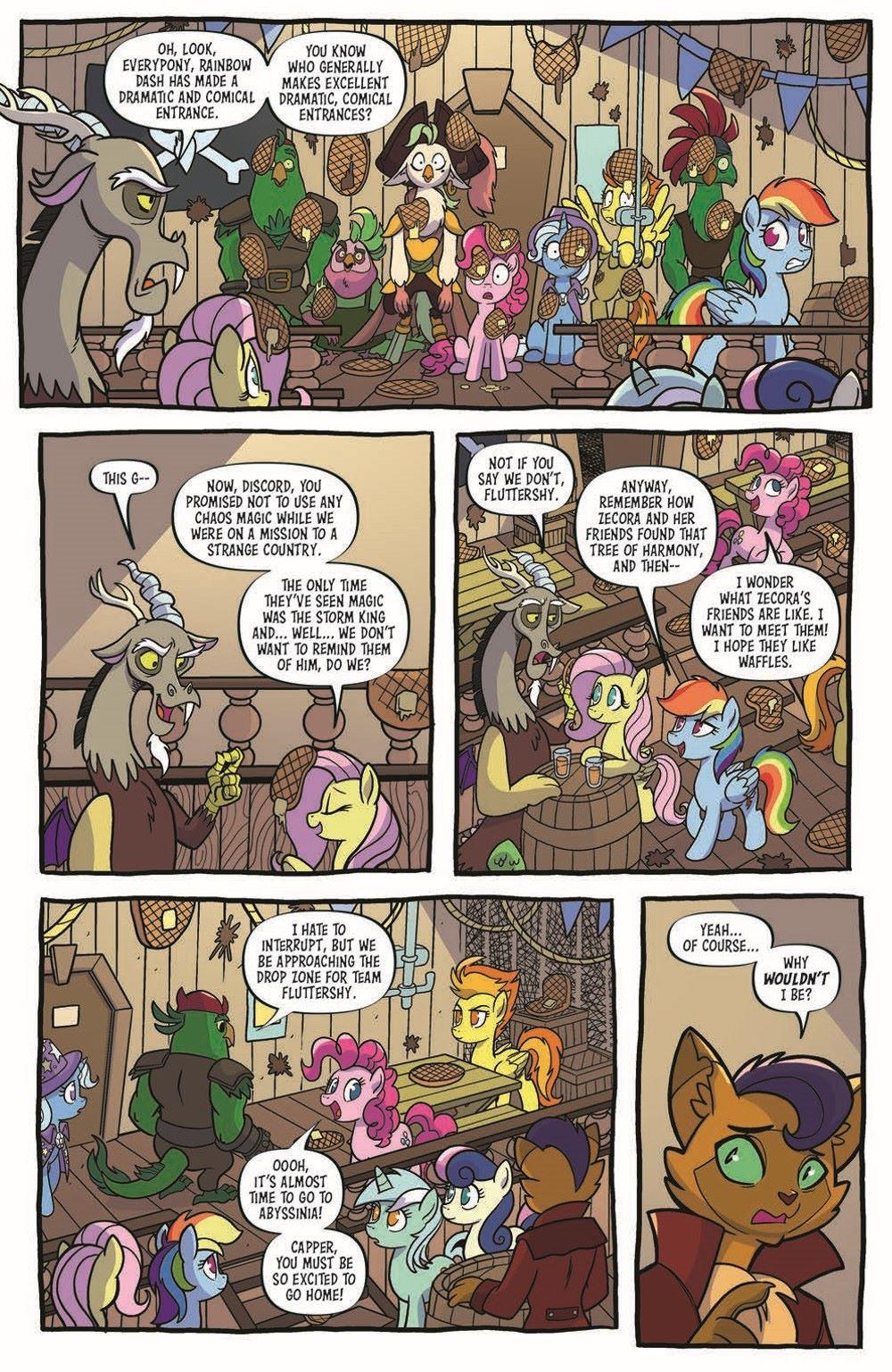 MLP96-pr-4 ComicList Previews: MY LITTLE PONY FRIENDSHIP IS MAGIC #96