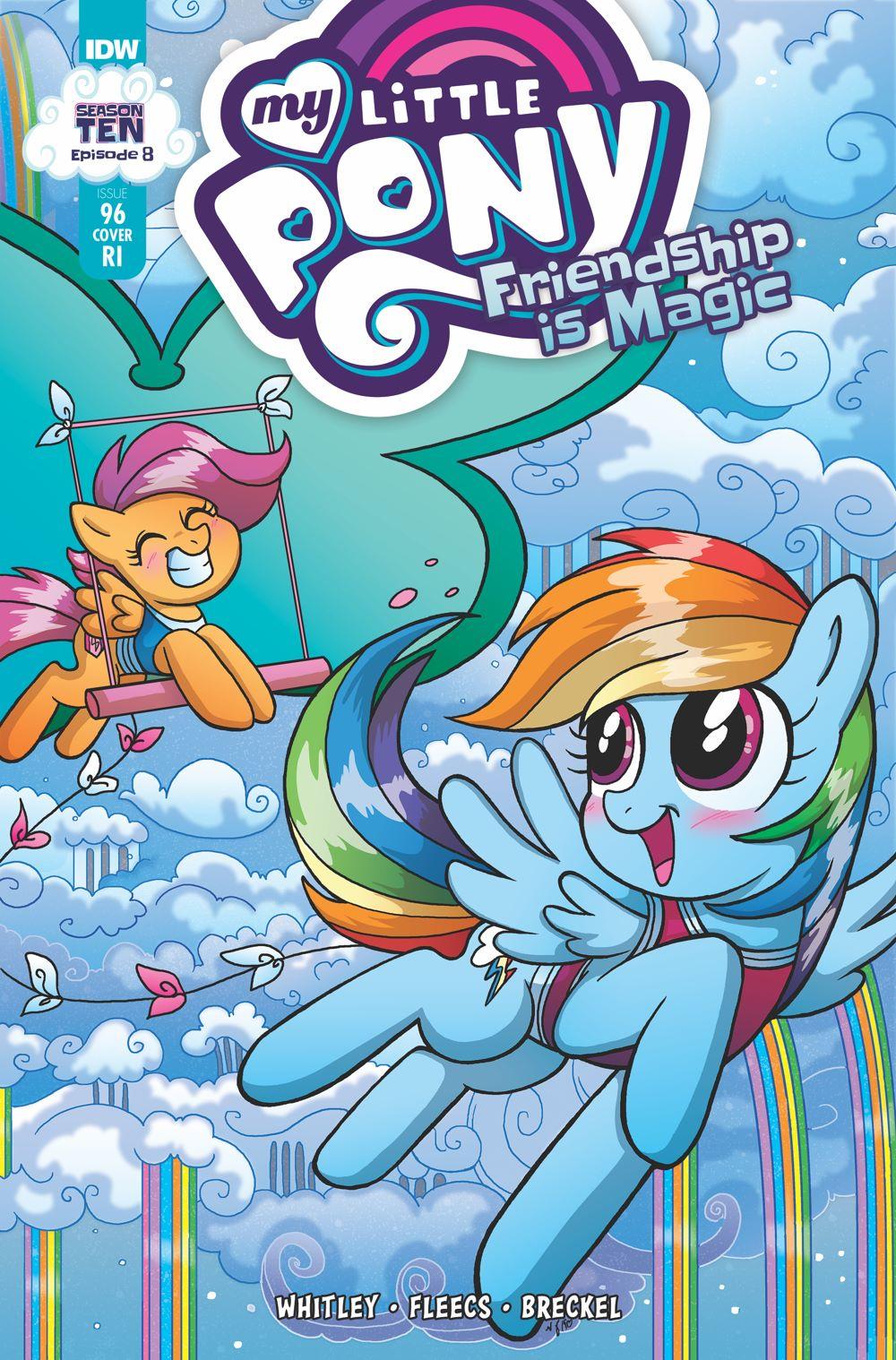 MLP96_08-coverRI ComicList Previews: MY LITTLE PONY FRIENDSHIP IS MAGIC #96