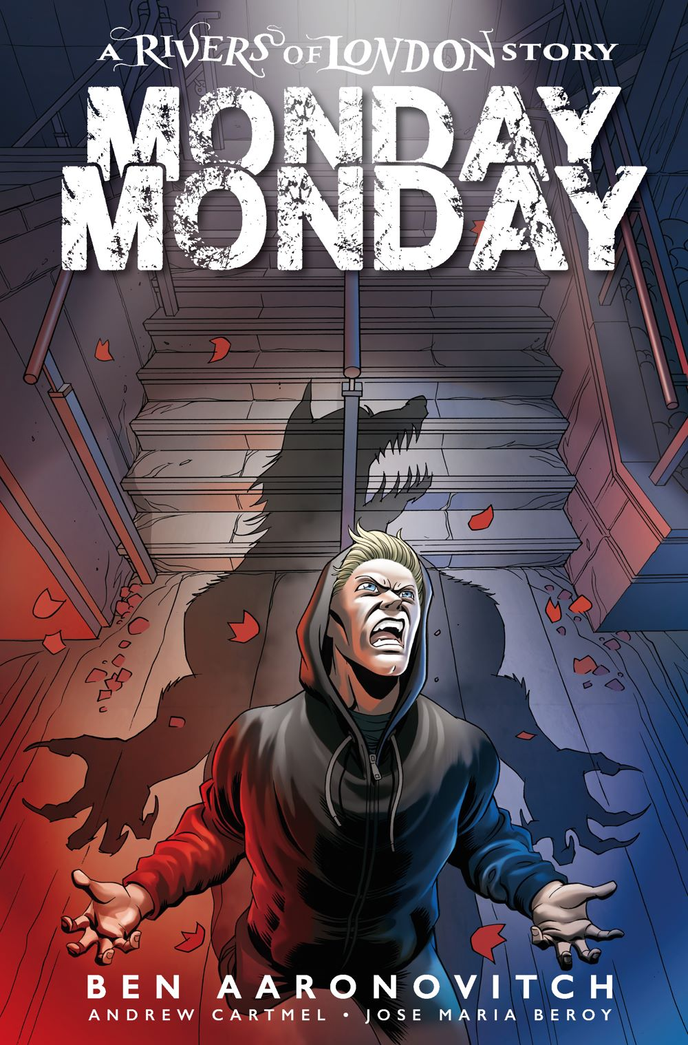 MONDAY-MONDAY-1-COVER-B-BEROY Titan Comics July 2021 Solicitations