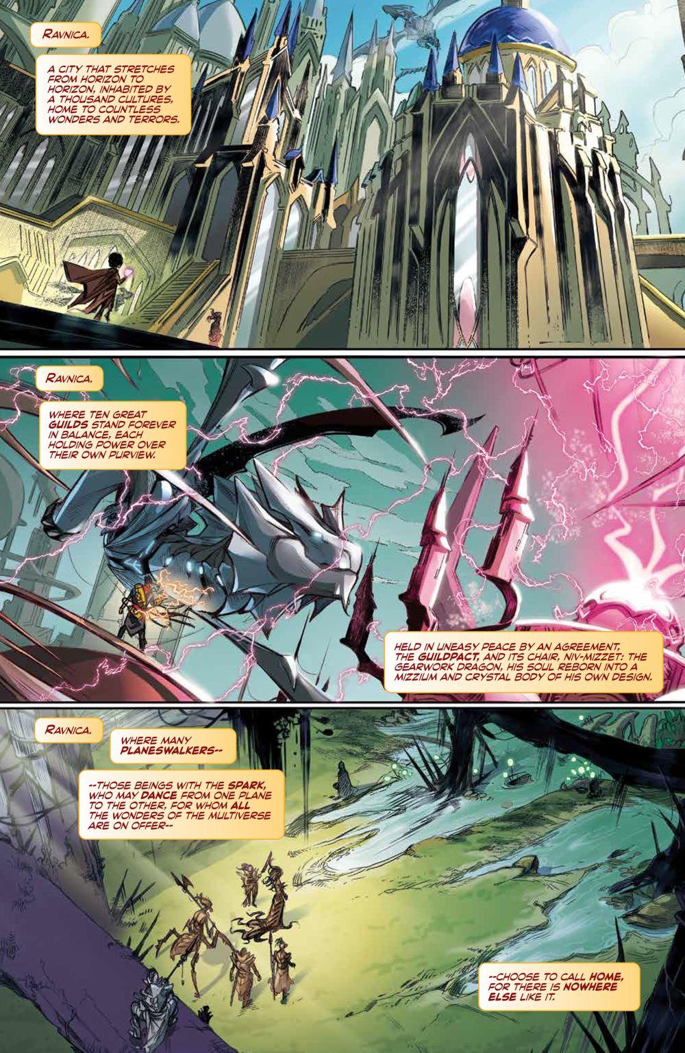 Magic_001_PRESS_6 ComicList Previews: MAGIC #1