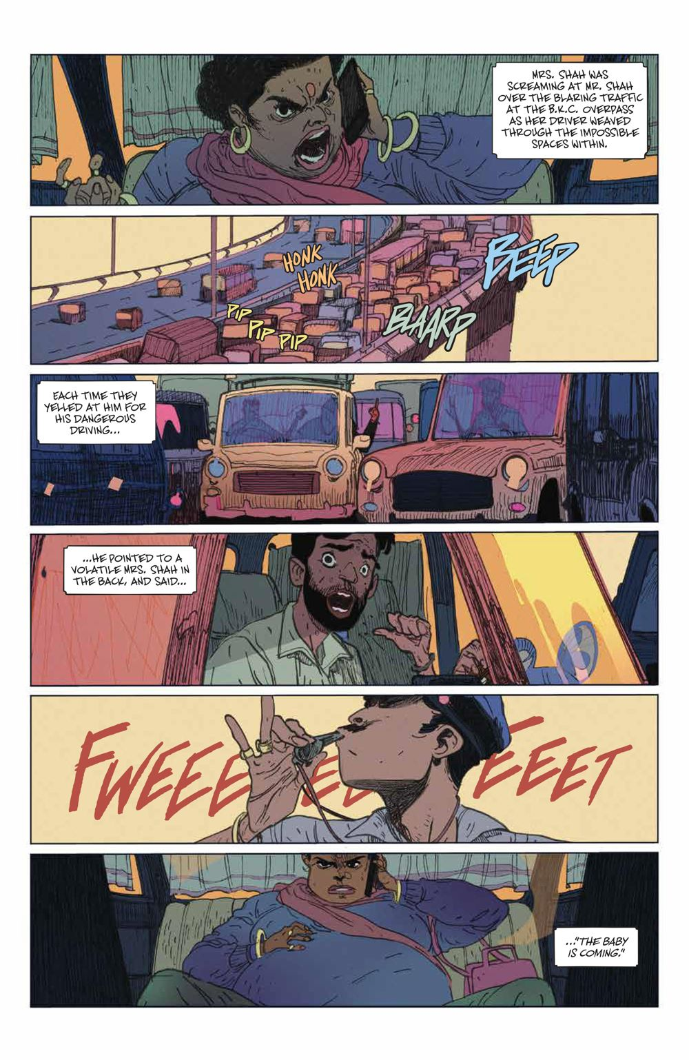 ManyDeathsLailaStarr_001_PRESS_4 ComicList Previews: THE MANY DEATHS OF LAILA STARR #1