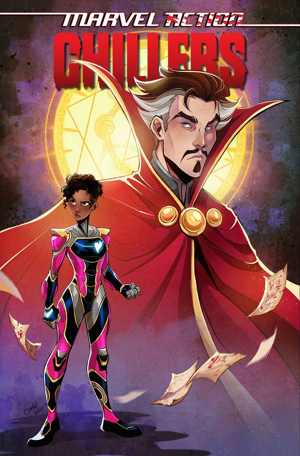 MarvelAction_CHILLERS_TPB_Cvr1-copy IDW Publishing July 2021 Solicitations