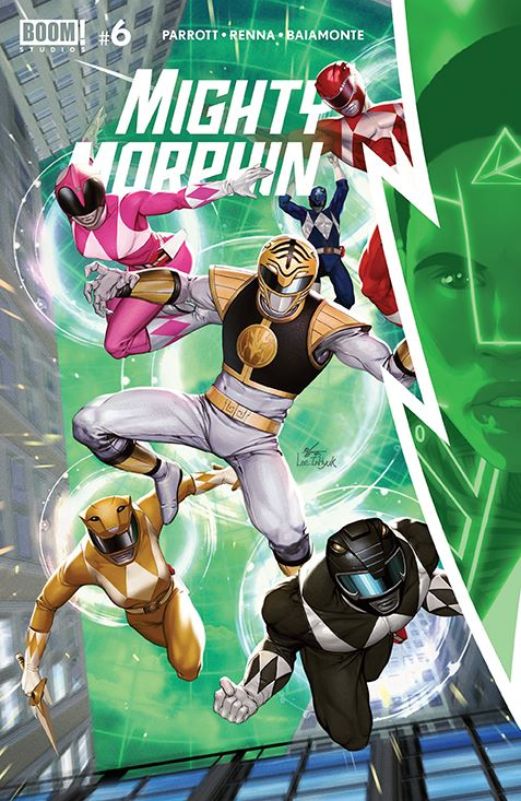 MightyMorphin_006_Cover_A_Main ComicList Previews: MIGHTY MORPHIN #6