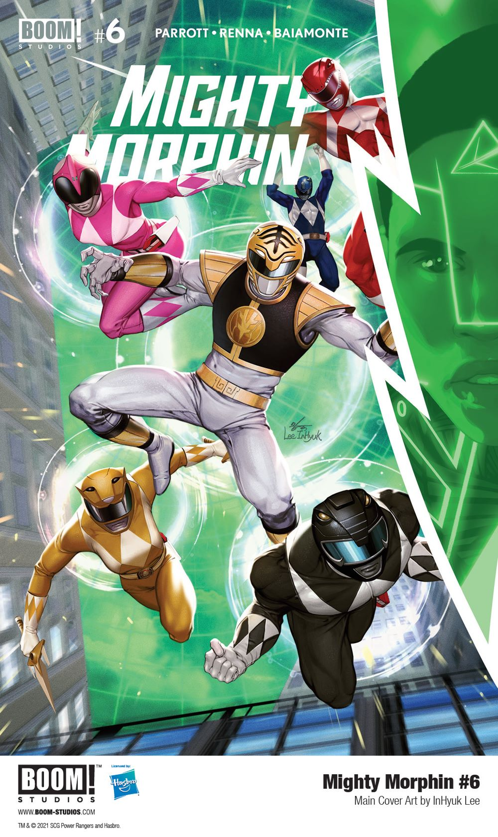 MightyMorphin_006_Cover_Main_PROMO First Look at BOOM! Studios' MIGHTY MORPHIN #6