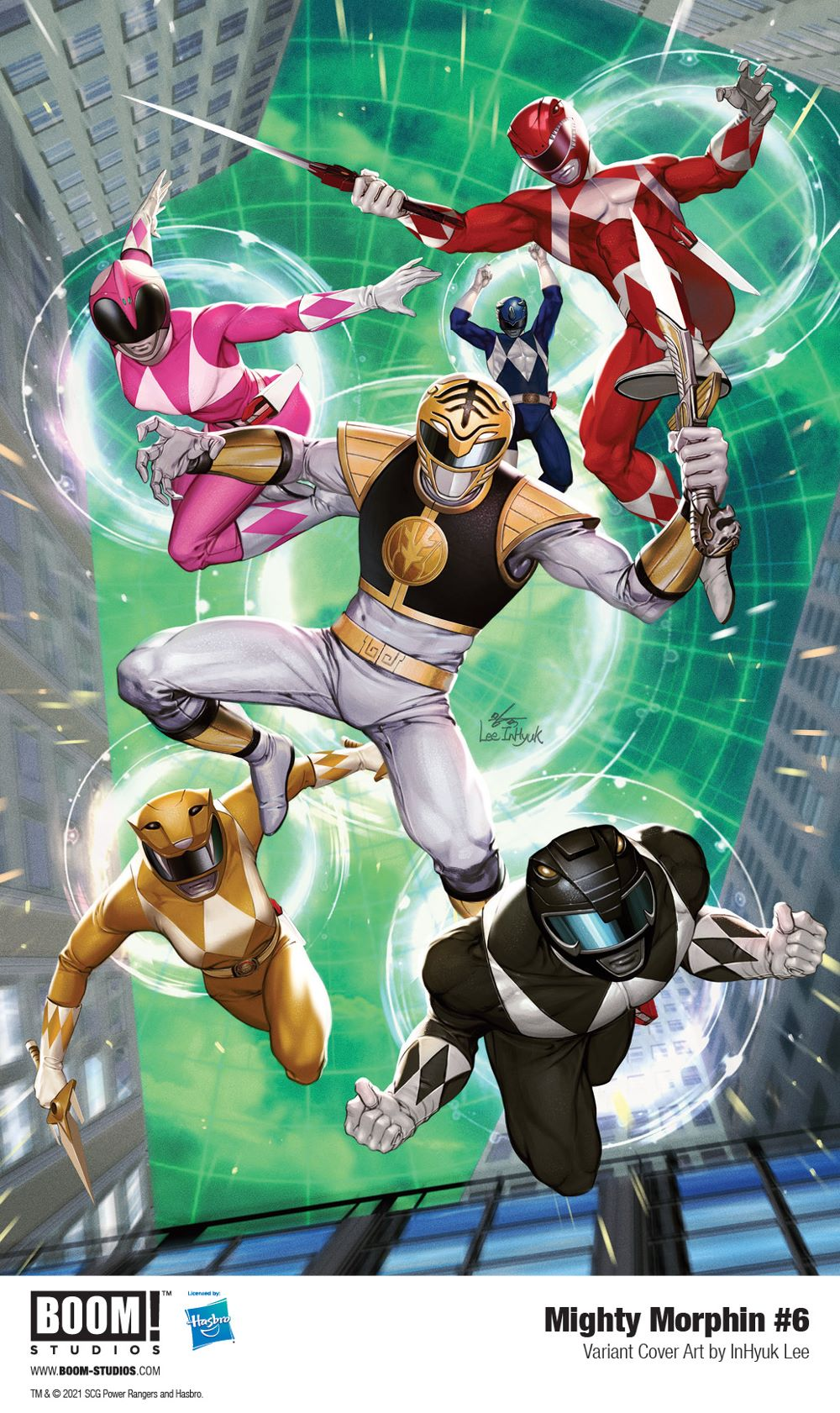 MightyMorphin_006_Cover_Variant_Lee_PROMO First Look at BOOM! Studios' MIGHTY MORPHIN #6