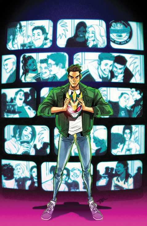 MightyMorphin_009_Cover_B_Legacy BOOM! Studios July 2021 Solicitations