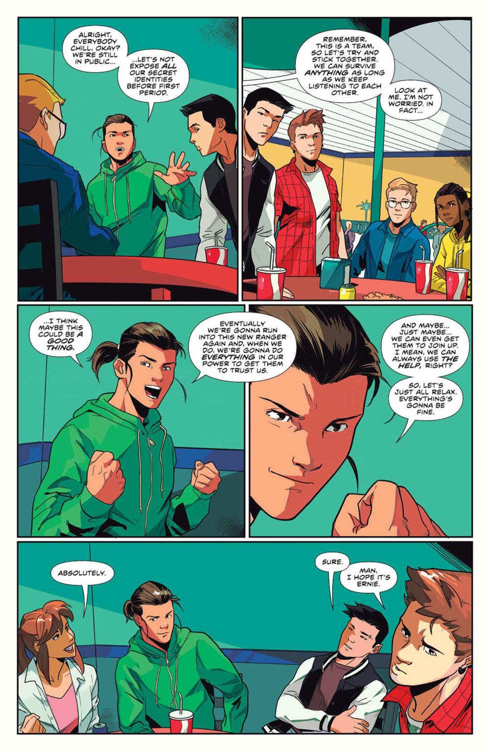 MightyMorphin_v1_SC_PRESS_14 ComicList Previews: MIGHTY MORPHIN VOLUME 1 TP