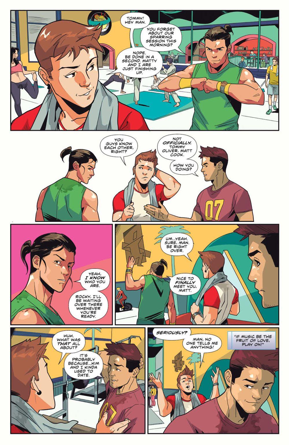 MightyMorphin_v1_SC_PRESS_18 ComicList Previews: MIGHTY MORPHIN VOLUME 1 TP