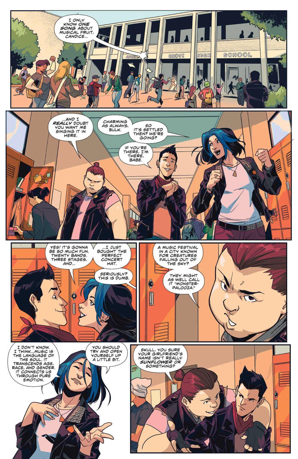 MightyMorphin_v1_SC_PRESS_19 ComicList Previews: MIGHTY MORPHIN VOLUME 1 TP
