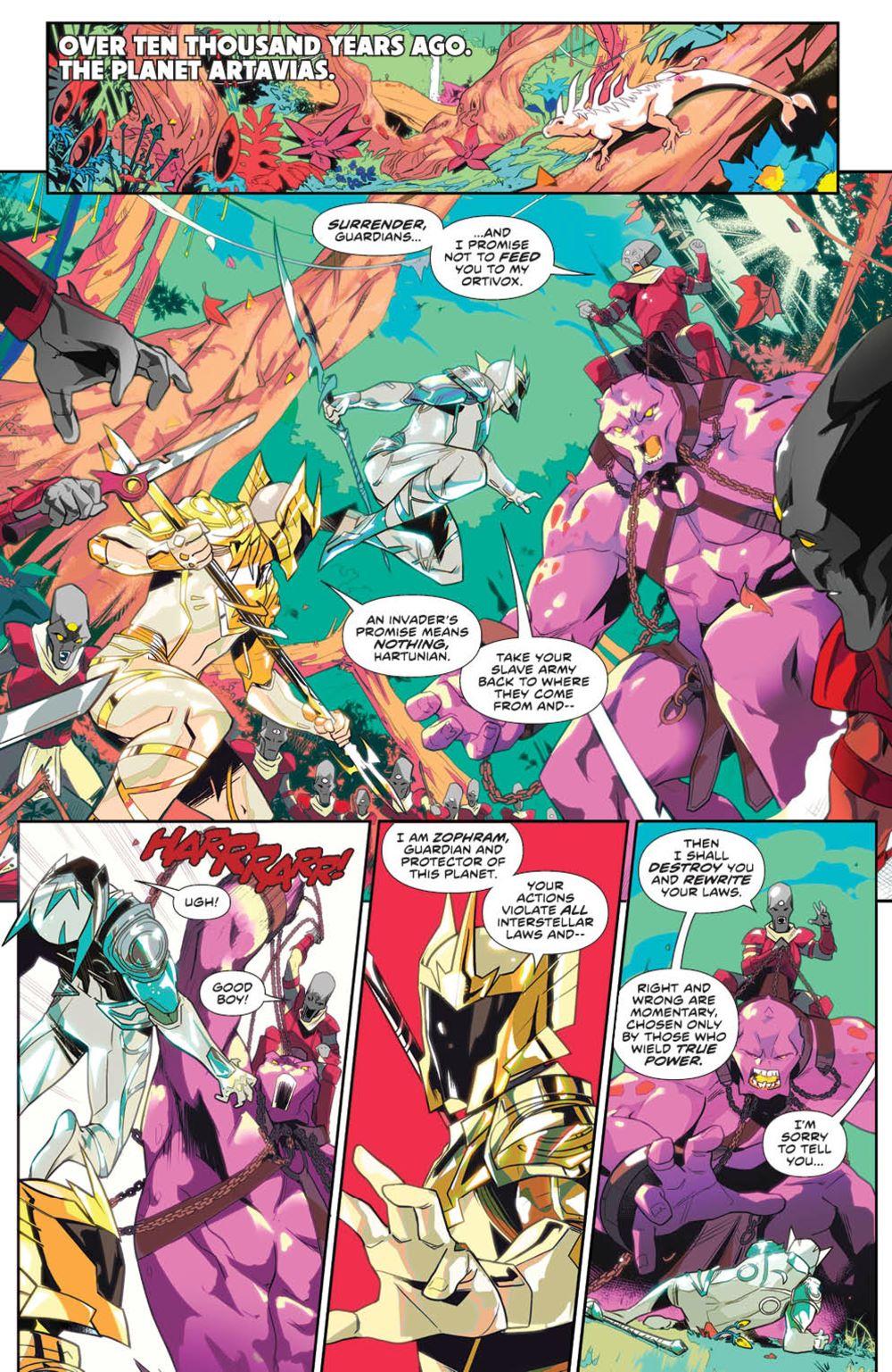 MightyMorphin_v1_SC_PRESS_7 ComicList Previews: MIGHTY MORPHIN VOLUME 1 TP