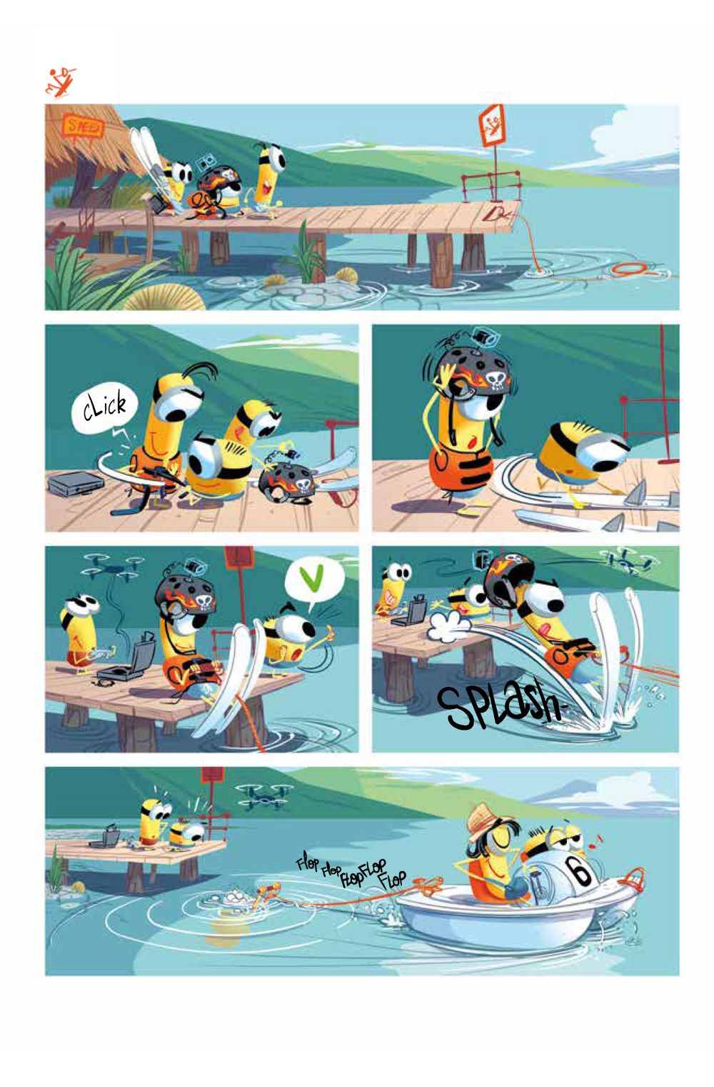 Minions_5.2_Sports_Intt__Page_2 ComicList Previews: MINIONS VOLUME 5 SPORTS #2