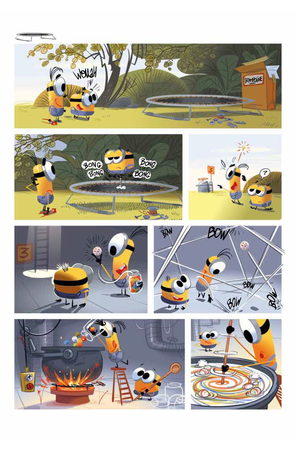 Minions_5.2_Sports_Intt__Page_3 ComicList Previews: MINIONS VOLUME 5 SPORTS #2