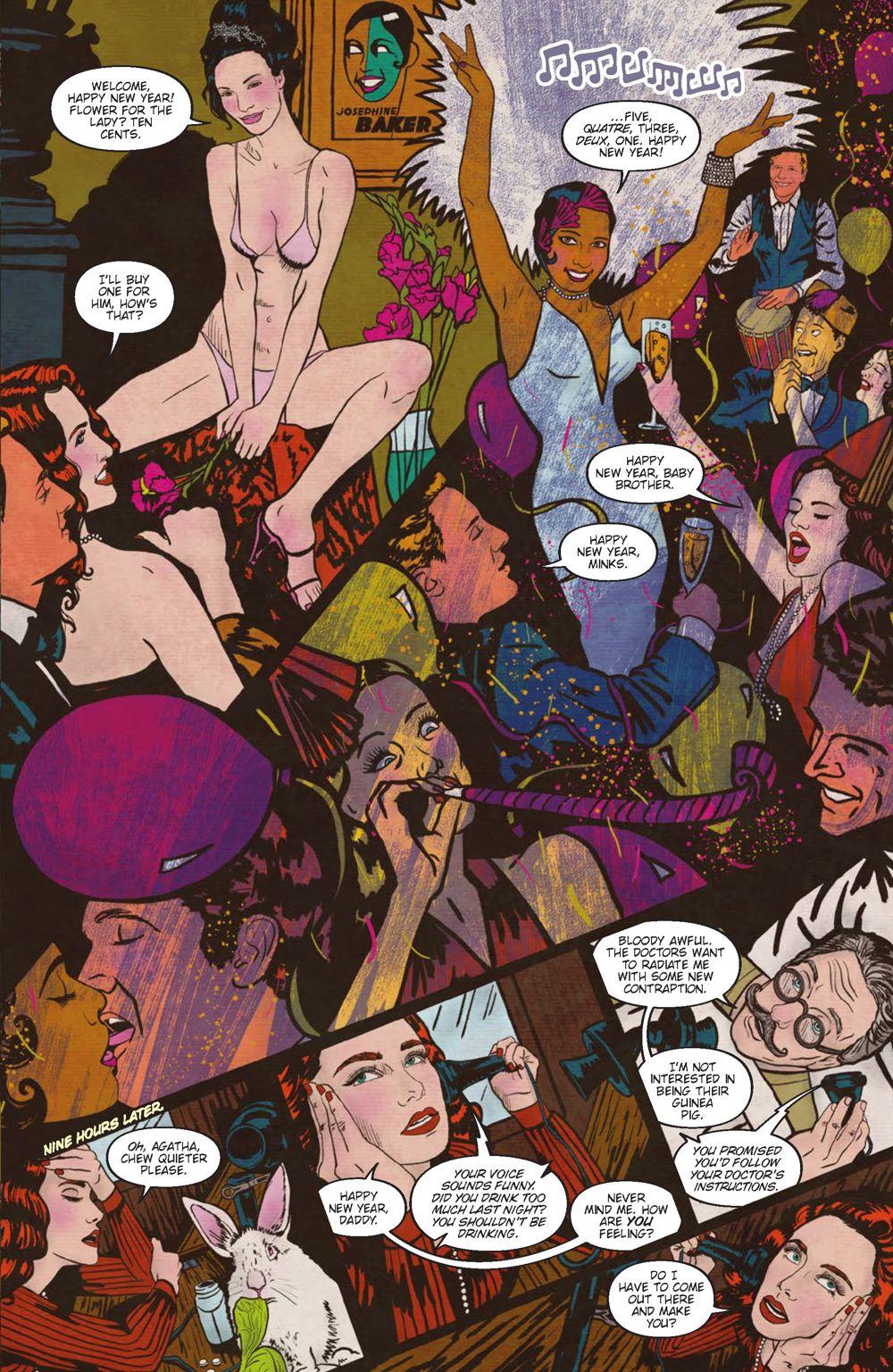 Minky-Interiors-Page_2 ComicList Previews: MINKY WOODCOCK THE GIRL WHO ELECTRIFIED TESLA #1