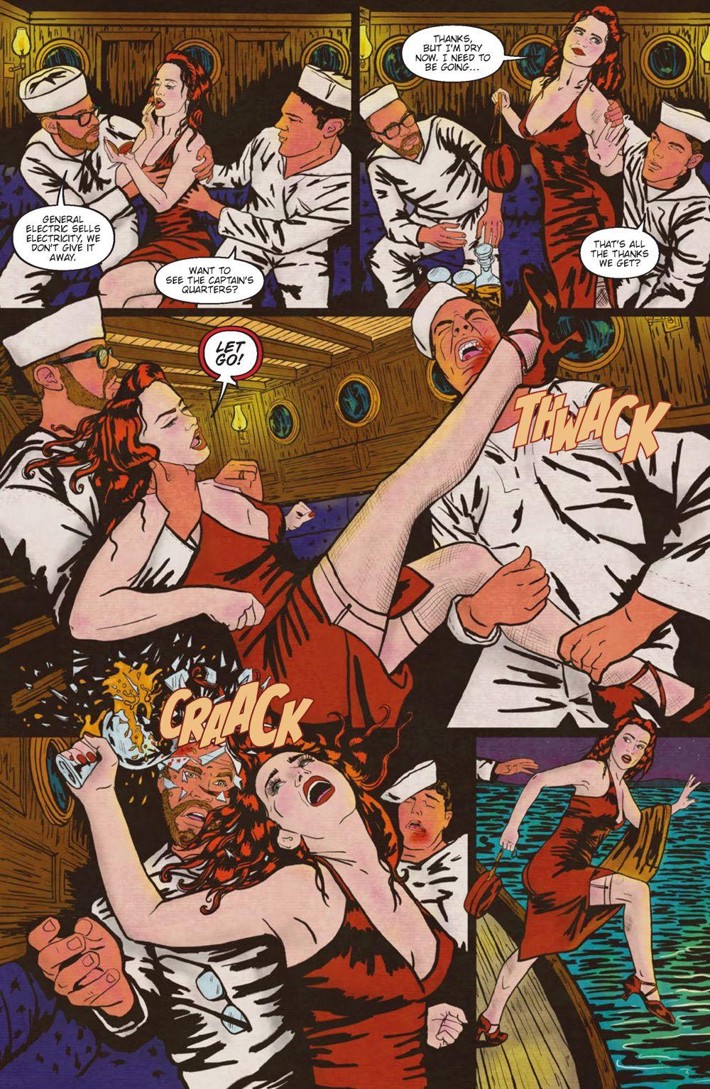 Minky-Interiors-Page_4 ComicList Previews: MINKY WOODCOCK THE GIRL WHO ELECTRIFIED TESLA #1