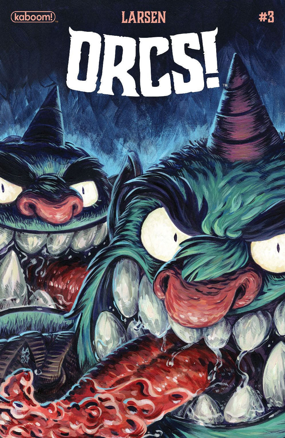 Orcs_003_Cover_A_Main ComicList Previews: ORCS #3 (OF 5)